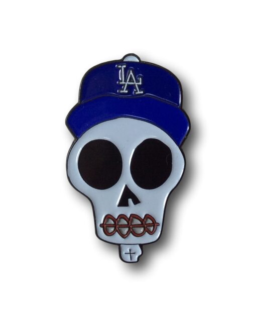 Los Angeles Calaca Pin